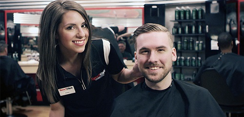 Sport Clips Haircuts of Terre Haute South ​ stylist hair cut
